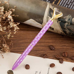 Metal case ballpoint pen with Crystal - The ShopCircuit