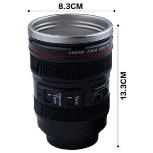 DSLR Camera Suction Mug With Lid, Unique Gift - The ShopCircuit