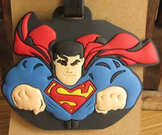 Superman Luggage Tag, Unique Gift - The ShopCircuit