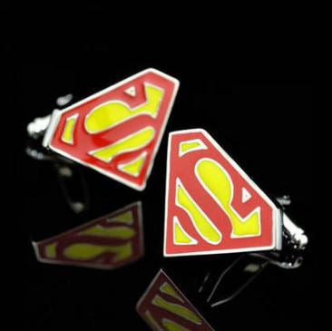 Superhero Cufflinks, Unique Gift - The ShopCircuit
