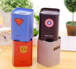 Superhero Money Bank, Unique Gift - The ShopCircuit