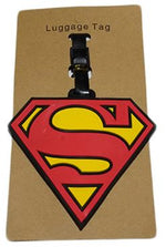 Superman Logo Luggage Tag, Unique Gift - The ShopCircuit