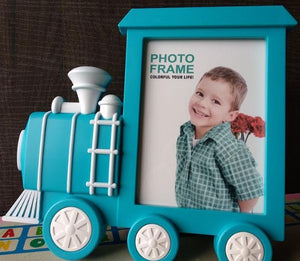 Steam Engine Photo Frame, Home Decor - The ShopCircuit