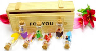 Message Bottle In Wooden Box, Unique Gift - The ShopCircuit