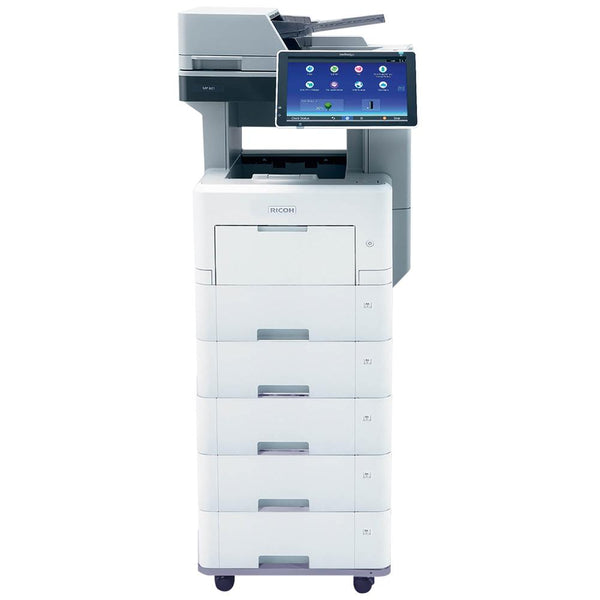 Integrated black and white laser printer- MP501SPF
