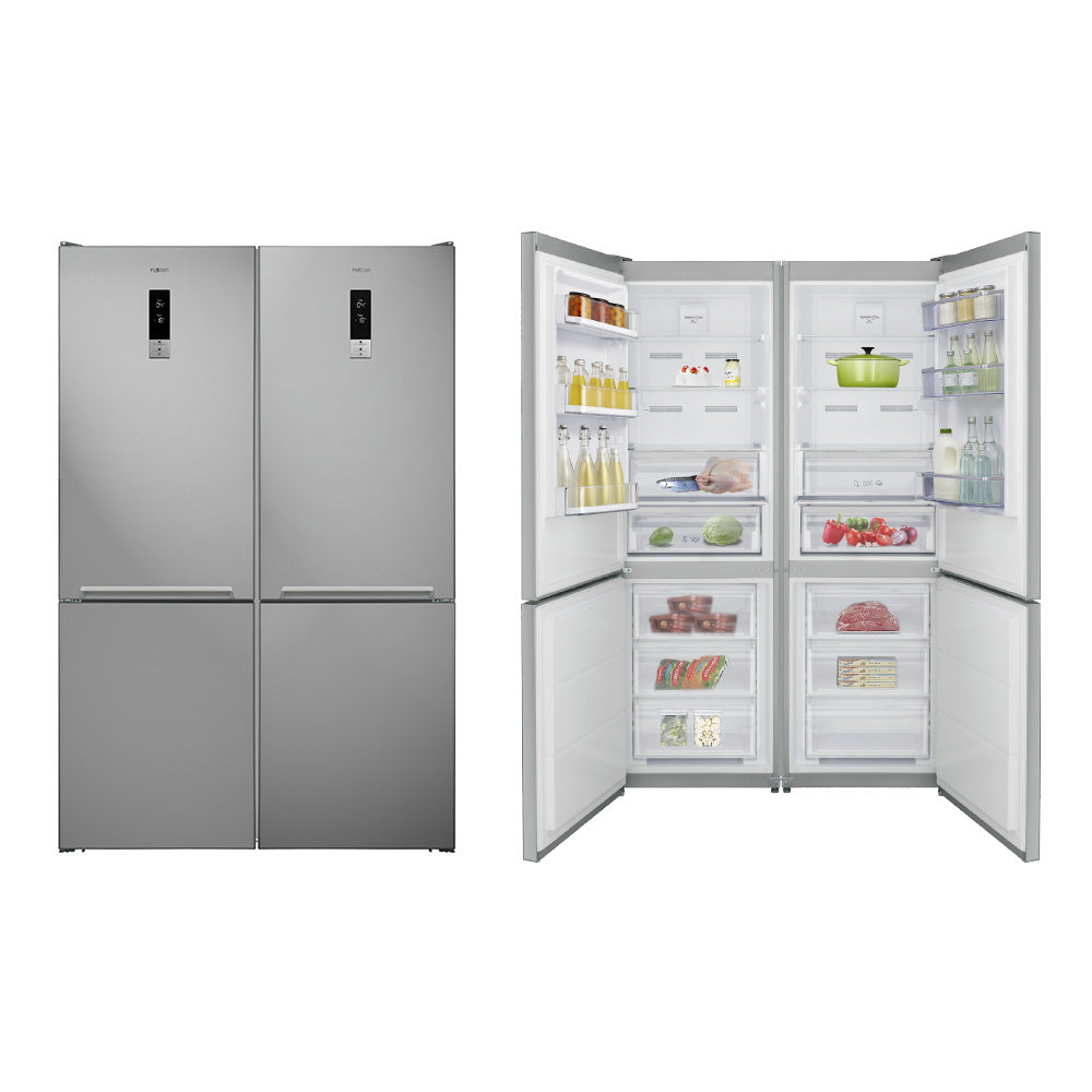 No Frost, Bottom Freezer Four Door Refrigerator, 680 Liters
