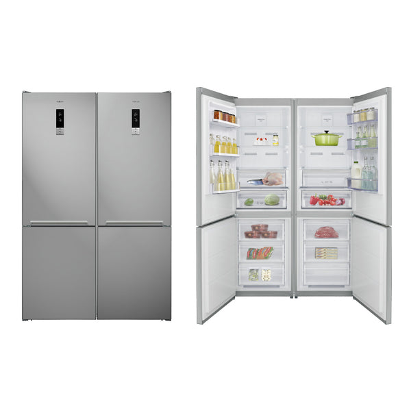 No-Frost, Bottom-Freezer Four-door Refrigerator, 680 Liters