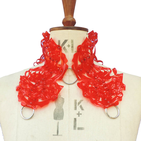 Queen Collar (in PVC - multiple colours available) - Ada Zanditon Couture