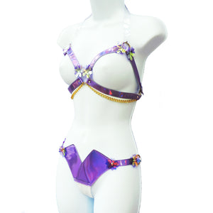 Sakura Cage Bra SETS (multiple colours available) - Ada Zanditon Couture