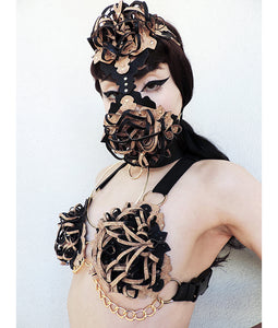GOLDEN BREATH MASK - Ada Zanditon Couture