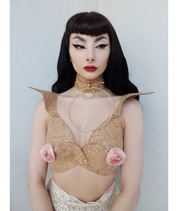 FREE THE NIPPLE BRA x LJN Studio (multiple colours/ set options available) - Ada Zanditon Couture