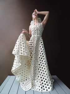 DIVINE HIVE LATTICE DRESS - Ada Zanditon Couture