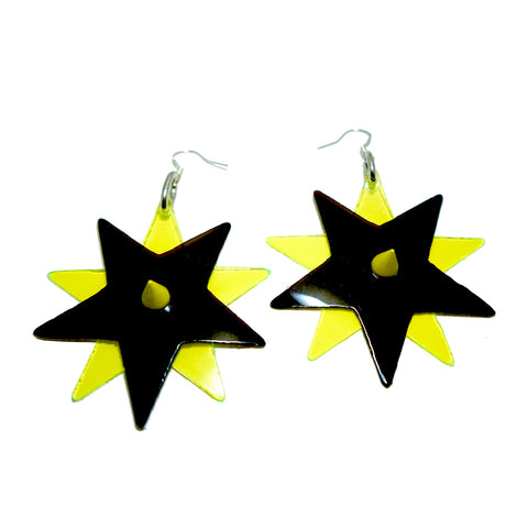 Bright Star Earrings (many colours available BUY 2 GET 1 FREE) NEW - Ada Zanditon Couture