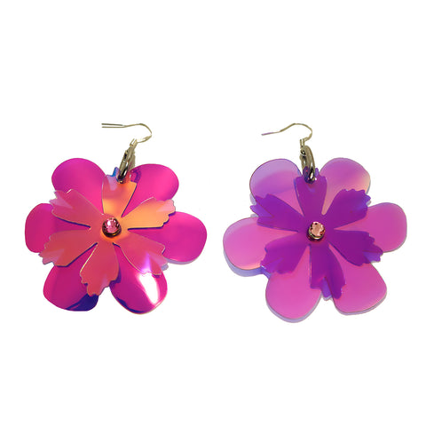 Flower Fantasy Earrings (multiple colours available) NEW - Ada Zanditon Couture