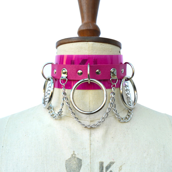 Chain à trois Choker Collar (multiple colours available) NEW - Ada Zanditon Couture