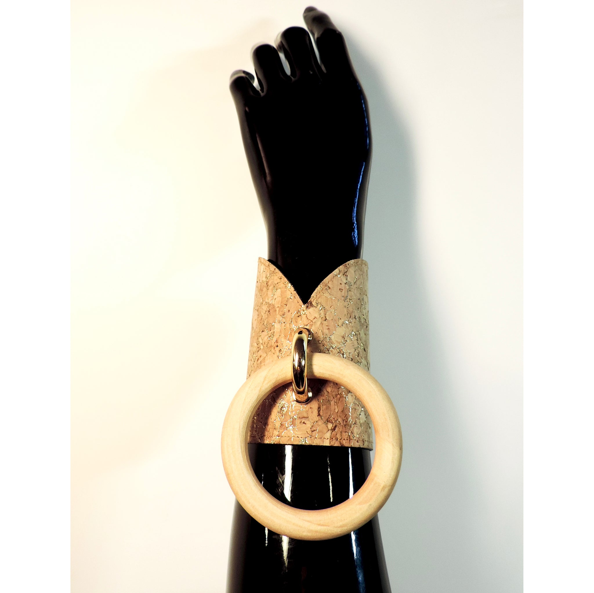 B WHO U ARE CUFFS (Cork - multiple colours available) - Ada Zanditon Couture