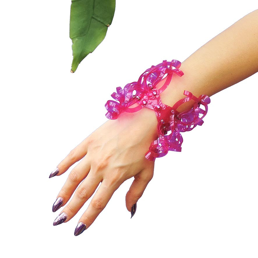 Butterfly Cuff  (in PVC - multiple colours available) - Ada Zanditon Couture