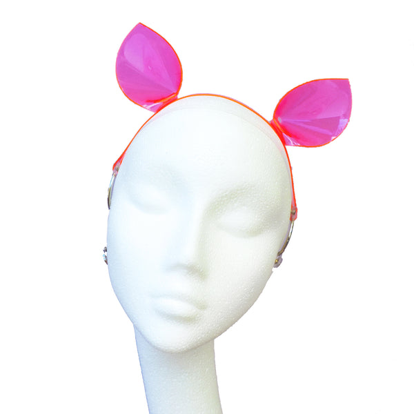 Piglet Ears (neon - multiple colours available) - Ada Zanditon Couture
