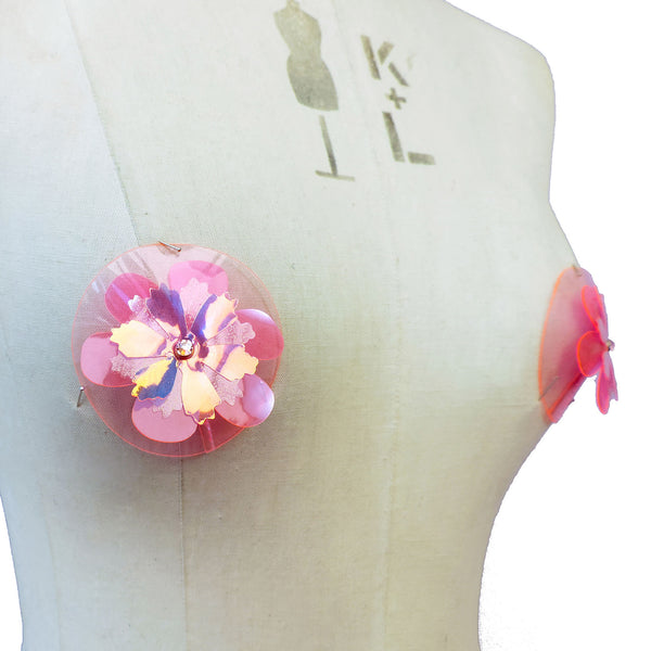 Flower Pasties (multiple colours available) - Ada Zanditon Couture