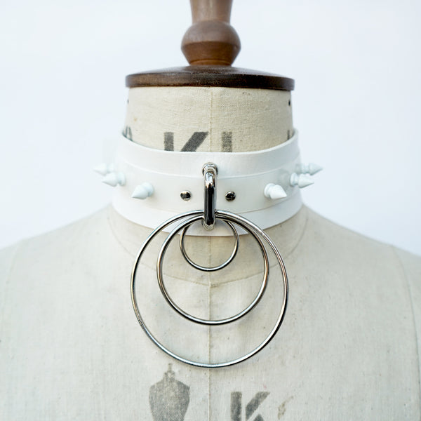Spike à trois Choker Collar (multiple colours available) NEW - Ada Zanditon Couture