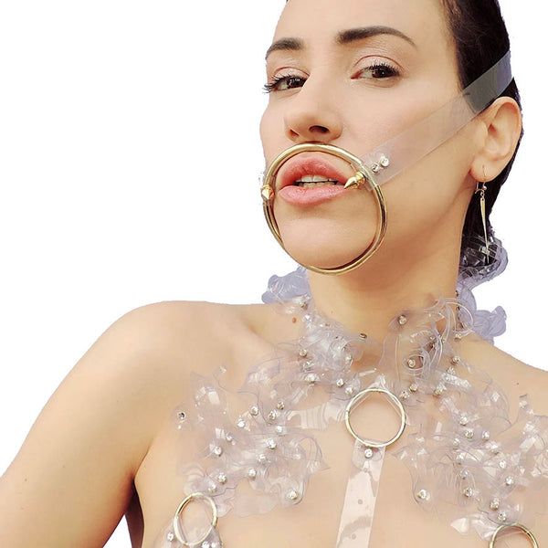 The Viper Gag - Ada Zanditon Couture