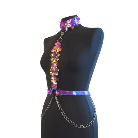 Violet Switch Harness - Ada Zanditon Couture