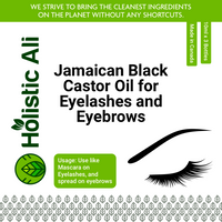 Jamaican Black Castor Oil for Eyelashes and Eyebrows 10ml x 3