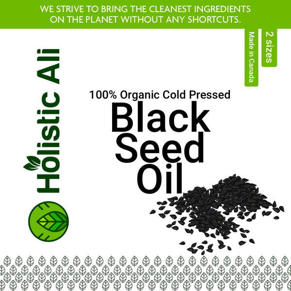 Organic Cold Pressed Black Seed Oil (Two Sizes)