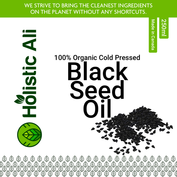 Organic Cold Pressed Black Seed Oil (Two Sizes) Sizes 250ml
