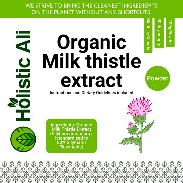 Milk Thistle Extract Powder 100g