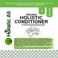 Organic Holistic Shampoo and Conditioner (1 Bottle shampoo, 1 Bottle Conditioner)