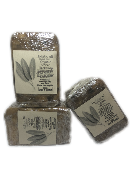 Organic African Black Soap from Burkina Faso BIG 200g (2 Sizes)
