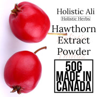Hawthorn Extract Powder 50g, Organically Grown