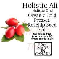 30ml Cold Pressed Rosehip Oil