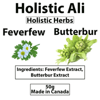 Feverfew Extract and Butterbur Extract Blend 50g