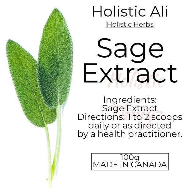 Sage Extract Powder 100g