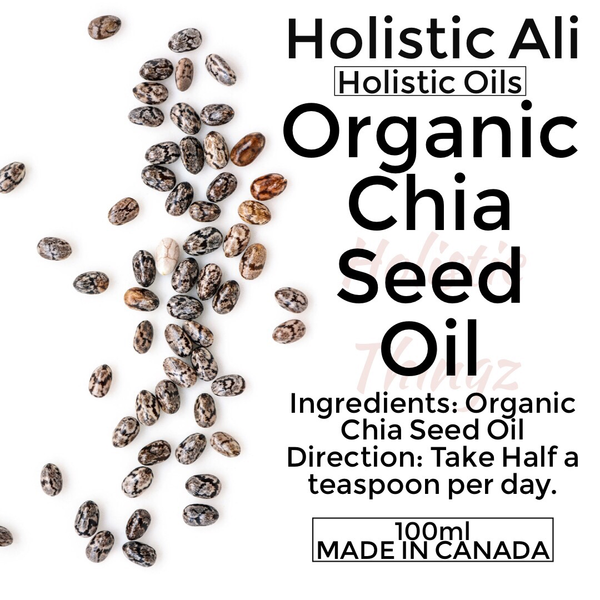 Organic Chia Seed Oil 100ml