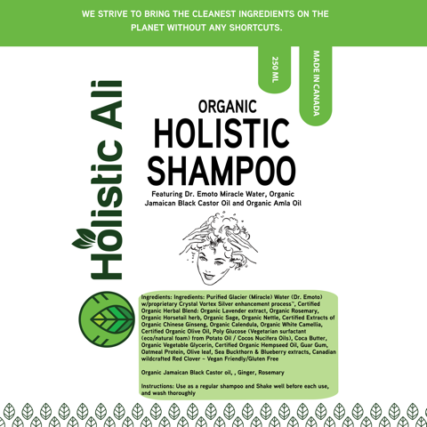 *NEW* Organic Holistic Shampoo and Conditioner (1 Bottle shampoo, 1 Bottle Conditioner)