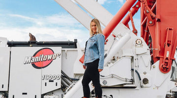 Crane driver Ashleigh Kaliszuk from Alberta shares her tip tips for surviving in construction.