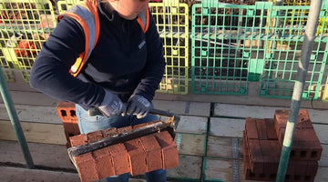 Apprentice Bricklayer Beth Skinner spills the beans on being the newbie and learning an incredible trade at a young age.