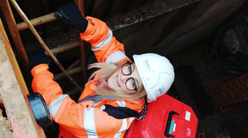 Lauren Holland, a London-based land surveyor - landing her dream job and making waves for more women in the industry
