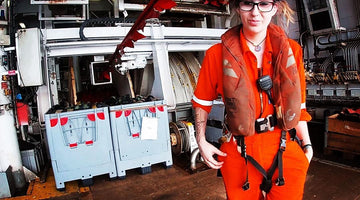 Bryony Price an Aeronautical engineer turned seismic technician from Wales