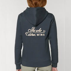 Indian Ink Motto Hoodie