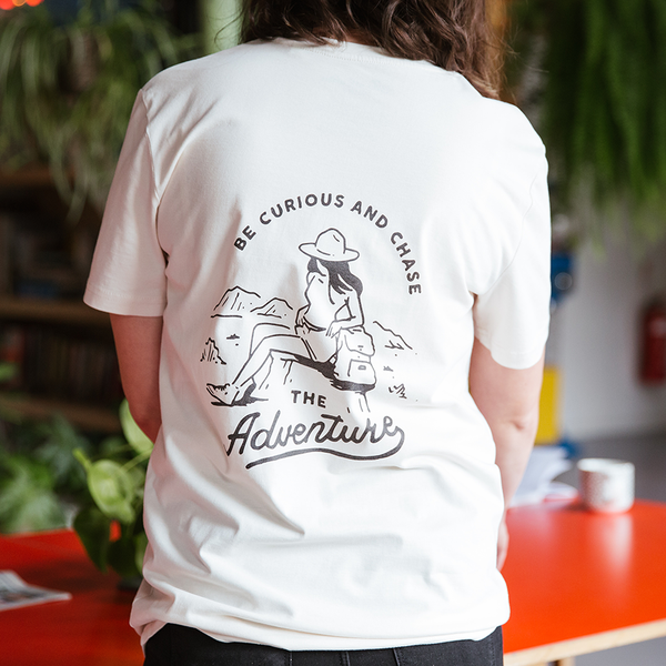 LTD Edition Vintage White Adventure Tee