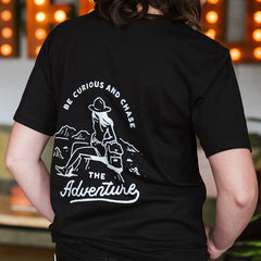 LTD Edition Black Adventure Tee