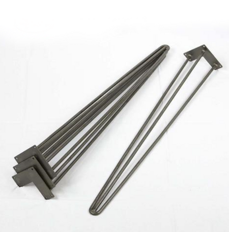 W5041A Heavy Duty 2-rod hairpin leg 71cm set/4