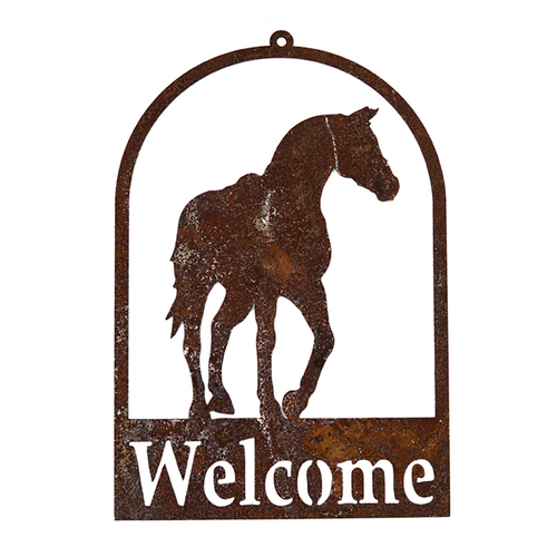 *W3944  Horse Welcome Signs