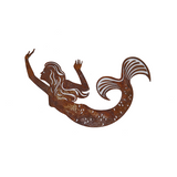 *W4369 Wall decor mermaid