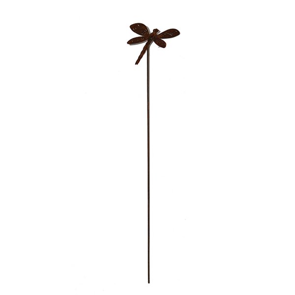 *W4923B Stake dragonfly with S-line on wing small(