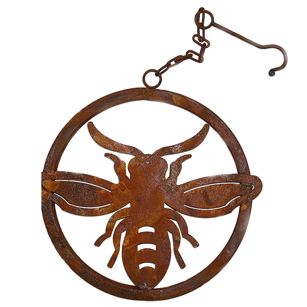 *W4270  Bee ring with hook